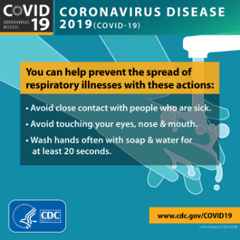 CDC COVID-19 Help prevent the disease from spreading